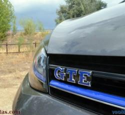 Volkswagen Golf GTE; dinamismo eléctrico