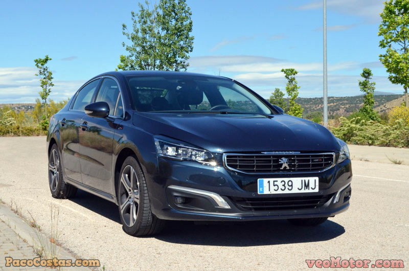 Peugeot 508 GT 4p 2.0 BlueHDi 180cv EAT6 – Confortable y deportivo